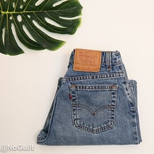 Vintage Levi's 551 High Waisted Relaxed Fit Jeans